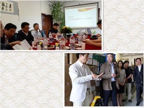 杭州富阳区委书记姜军参观访问德国欧博