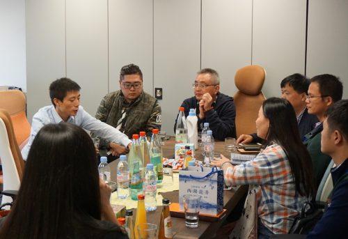 阿里巴巴商学院章剑林副院长率团访问欧博国际考察电子商务