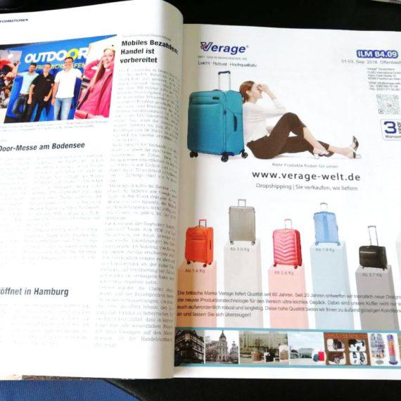 Verage® on LR magazine